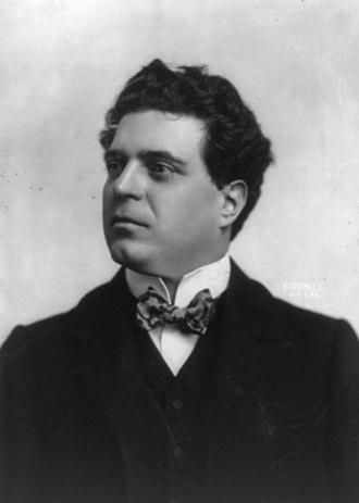 Pietro Mascagni - Pietro Mascagni in 1903