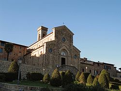 The Pieve of Barberino.