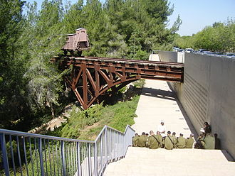 Garden of the Righteous Among the Nations - Image: Piki Wiki Israel 12484 waggon monument at yad vashem