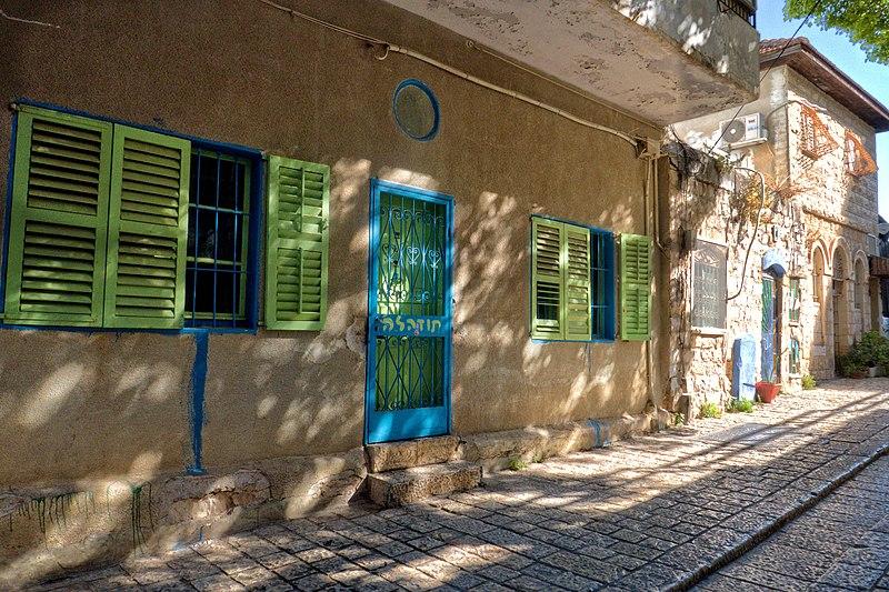 צפת העתיקה,חלונות ודלתות