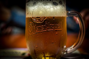 Pilsner Urquell - A mug of Pilsner Urquell