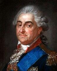 Portret Stanisława Augusta w mundurze generała wojsk koronnych