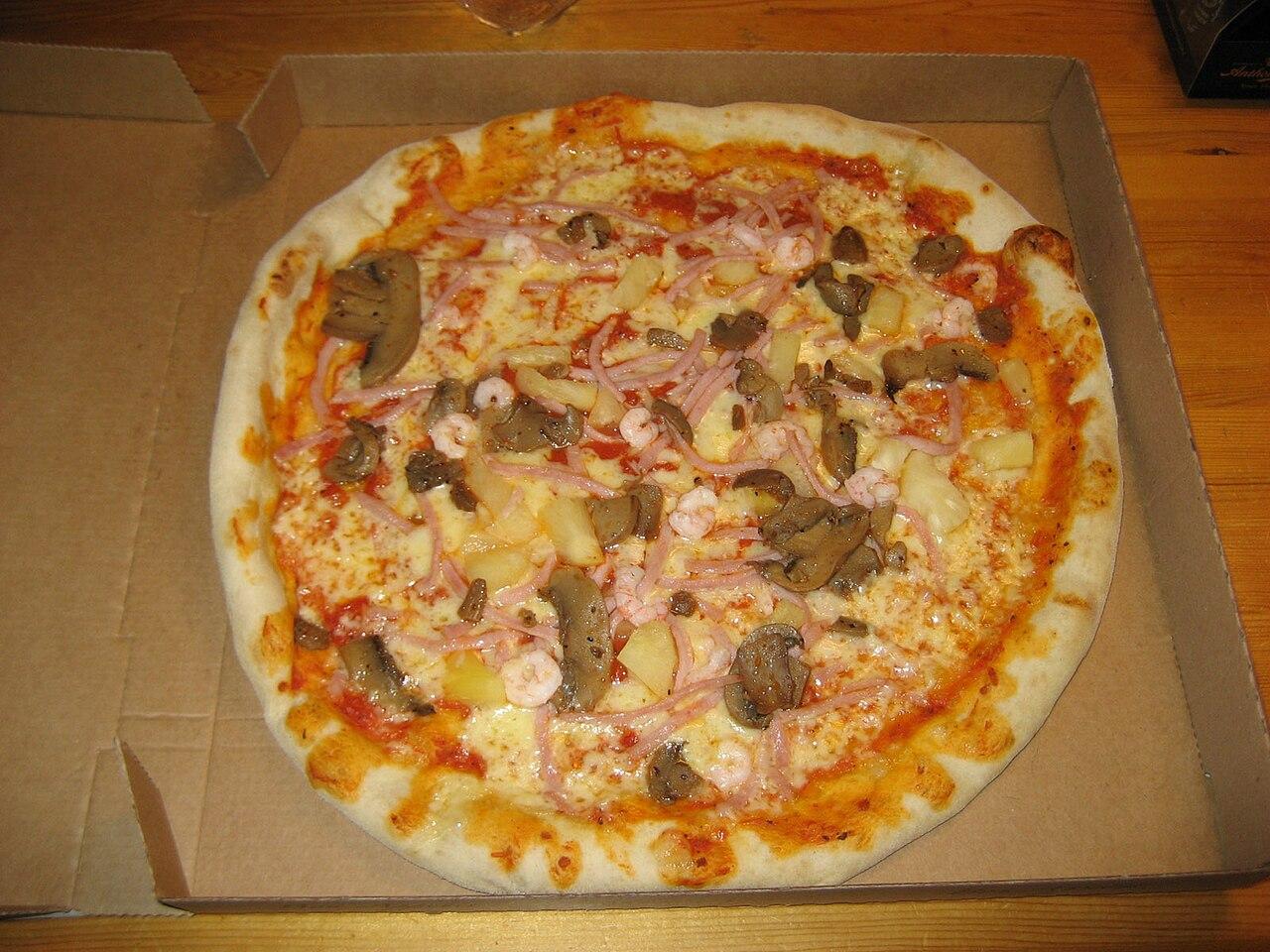 Pizza utan ost