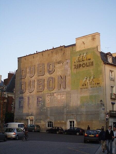 Place Sainte Anne, Rennes, Brittany