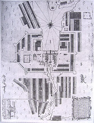 Yekaterinburg - Plan of Yekaterinburg, 1743