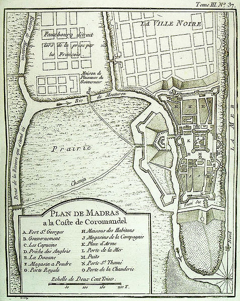 File:Plan de Madras 1764 Bellin.jpg