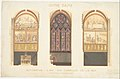 Plan for the Renovation of a Chapel in the Nave of the Cathedral of Notre Dame, Paris MET DP148228.jpg