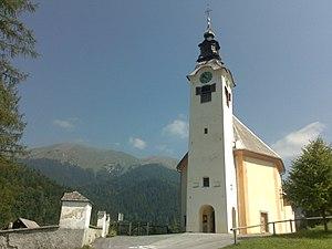 Planina pod Golico - Holy Cross Church