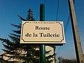 Plaque Route Tuilerie St Cyr Menthon 2011-11-23.jpg