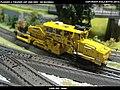Plasser & Theurer USP 2000 SWS DB Bahnbau Kibri 16060 Modelismo Ferroviario Model Trains Modelleisenbahn modelisme ferroviaire ferromodelismo (14130666976).jpg