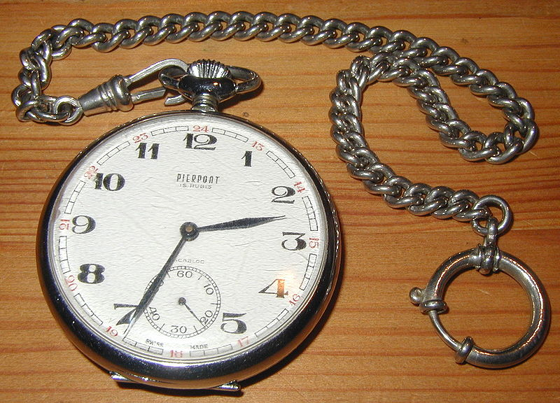Archivo:Pocket watch with chain.jpg
