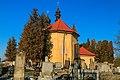 Pohled na kostel svatého Jana Nepomuckého v Lánech na Důlku 02.jpg
