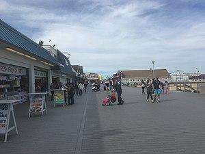 Point Pleasant Beach, New Jersey - The Point Pleasant Beach boardwalk looking north