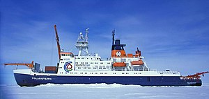 research vessel Polarstern, managed by F. Laeisz