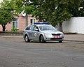 Police car in Minsk, Belarus 190915 1.jpg