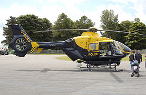 Avon and Somerset Constabulary - West Counties EC135 Helicopter