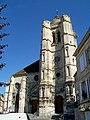 Pont-Sainte-Maxence (60), clocher et portail de l'église Sainte-Maxence (2).jpg