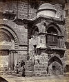Porch of the Church of the Holy Sepulchre Jerusalem 1859.jpg