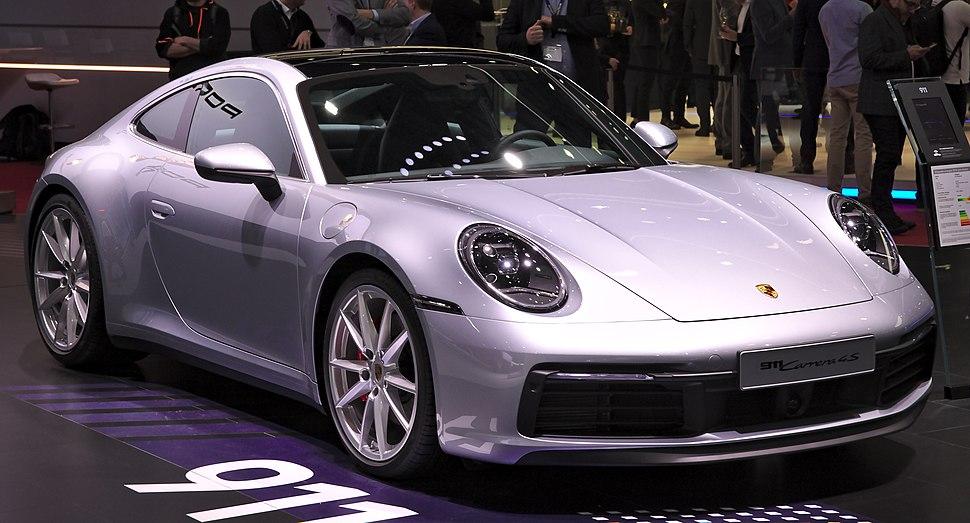 Porsche 992 Carrera 4S Genf 2019 1Y7A5561