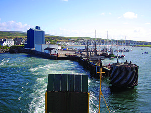 Caledonian Maritime Assets - Port Ellen pier on Islay was officially opened by CMAL in August 2012