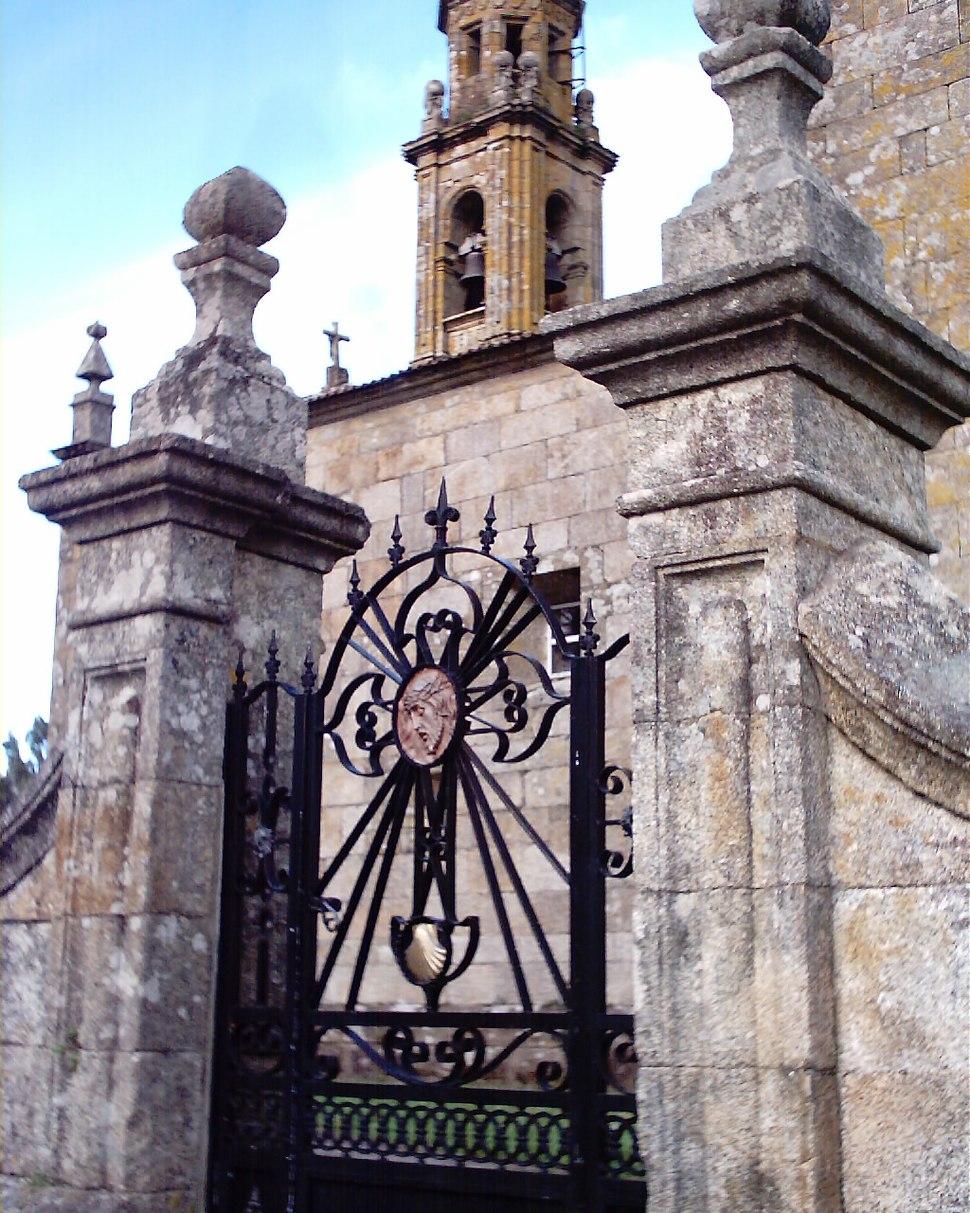 Porta da Igrexa de San Mamede