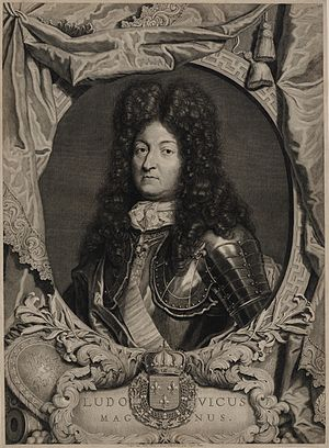 Pieter van Gunst - Pieter van Gunst: portrait of Louis XIV of France