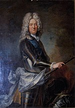Portrait painting of Charles Armand de Gontaut, Duke of Biron by Hyacinthe Rigaud.jpg