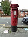 Post box outside Smithdown Road (Toxteth) post office.jpg