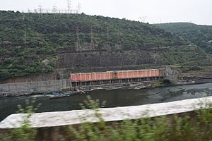 Power sector of Andhra Pradesh - Srisailam right bank power house