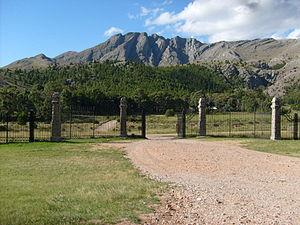 Ernesto Tornquist Provincial Park - Image: Pque Torquinst Entrana cerro ventana