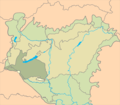 Praeilliricum floristic district in Hungary.png