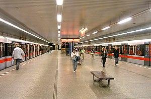 Háje (Prague Metro) - Platform