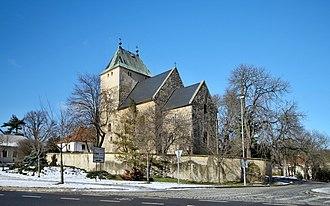 Prague 14 - St. Bartholomew church in Kyje