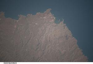 Praia, Cape Verde Astronaut Imagery