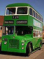 Preserved Liverpool Corporation bus L255 (VKB 711) 1956 Leyland Titan PD2 Crossley, Merseyside Transport Trust Easter running day 2011.jpg