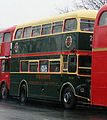 Preserved Routemaster bus RM2186 (CUV 186C) Shillibeer livery, Prince Albert Road, route 159 anniversary run, 8 December 2007.jpg