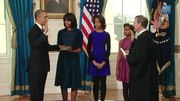 President Obama takes the Oath of Office (HD).ogv