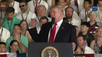 File:President Trump Participates in the Commissioning Ceremony for the Gerald R. Ford (CVN-78).webm