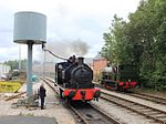 Preston Riverside station - Princess and Courageous.JPG