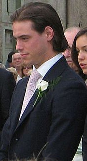 Prince Félix of Luxembourg - Félix at the wedding of his brother Louis in 2006