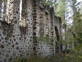 "Princeton, British Columbia - The ""Princeton Castle"" ruins."