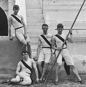 Tiger Inn -  The Four Princeton Members of the First American Olympic Team, Athens 1896