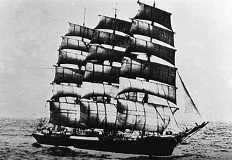 Priwall (barque) - Image: Priwall (ship, 1917)