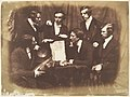 Prof. Fraser, Rev. Welsh, Rev. Hamilton, and Three Other Men MET DP142476.jpg