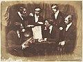Prof. Fraser, Rev. Welsh, Rev. Hamilton, and Three Other Men MET DP142476.jpg