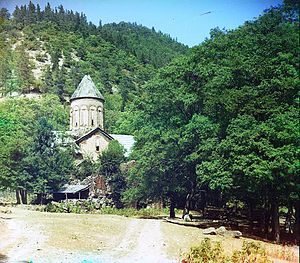 2004 World Monuments Watch - The Timotesubani Virgin Church was constructed during the Golden Age of medieval Georgia in the early 13th century.
