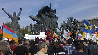 Armenians in Russia - Protests in Moscow against the extradition and pardon of Ramil Safarov, 2012