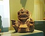 Puebla - Museo Amparo - Bestiole des états théocratiques, période classique.JPG