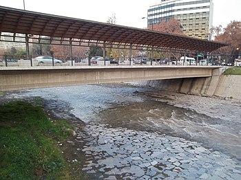 Puente calle Pedro de Valdivia
