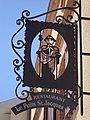 Pujaudran (Gers) enseigne jaquaire Restaurant le Puits St.Jacques.JPG